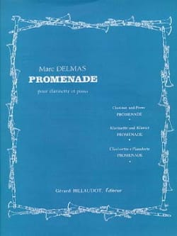 Marc Delmas - Promenade - Partition - di-arezzo.fr