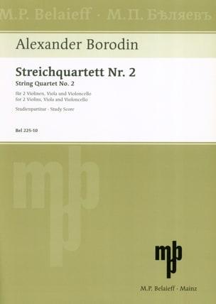 Alexandre Borodine - Streichquartett Nr. 2 D-Dur - Partitur - Noten - di-arezzo.de