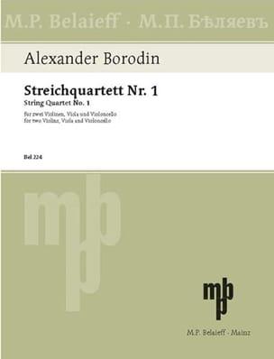 Alexandre Borodine - Streichquartett Nr.1 A-Dur - Stimmen - Noten - di-arezzo.de