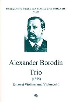 Alexandre Borodine - Trio 1855 - 2 Violinen Violoncello - Stimmen - Sheet Music - di-arezzo.co.uk