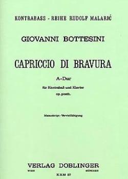 Capriccio di bravura A-Dur Giovanni Bottesini Partition laflutedepan