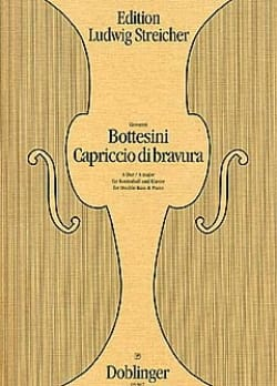 Giovanni Bottesini - Capriccio di Bravura - Partition - di-arezzo.fr
