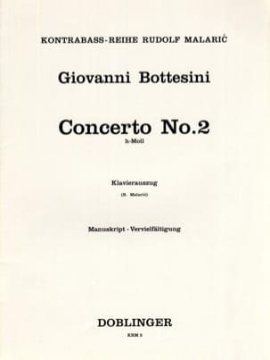 Concerto n° 2 en si mineur - Contrebasse - laflutedepan.com