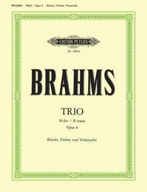 BRAHMS - Klaviertrio H-Dur op. 8 -Stimmen - Partition - di-arezzo.fr