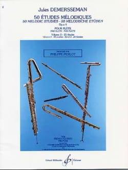 Jules Demersseman - 50 Etudes mélodiques op. 4 – Volume 2 - Partition - di-arezzo.fr