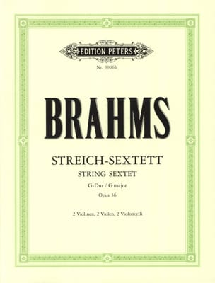 BRAHMS - Streich-Sextett G-Dur op. 36 - Stimmen - Sheet Music - di-arezzo.co.uk