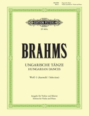 BRAHMS - Ungarische Tänze WoO 1 - Sheet Music - di-arezzo.co.uk