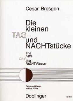 Die kleinen Tag - und Nachtstücke - Cesar Bresgen - laflutedepan.com