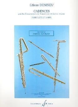 Edison Denisov - Cadences pour Concerto KV299 de Mozart – Flûte piano - Partition - di-arezzo.fr