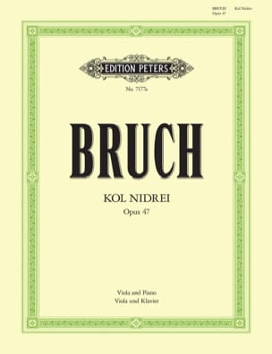 Max Bruch - Kol Nidrei op. 47 - Alto - Sheet Music - di-arezzo.co.uk