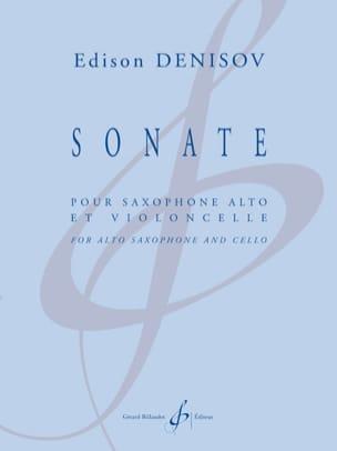 Sonate pour saxophone alto et violoncelle - laflutedepan.com