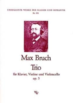 Max Bruch - Trio op. 5 - Stimmen - Sheet Music - di-arezzo.com
