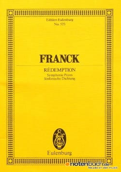Rédemption FRANCK Partition Petit format - laflutedepan