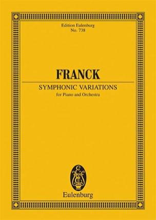 César Franck - Symphonische Variationen - Partition - di-arezzo.fr