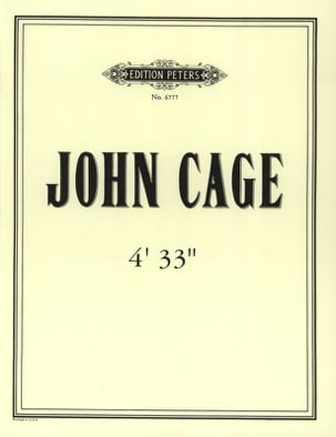 John Cage - 4'33 '' - Partitura - di-arezzo.it