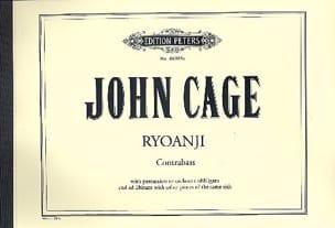 Ryoanji for Bass - John Cage - Partition - laflutedepan.com