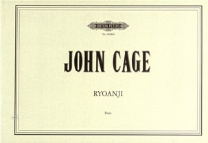 John Cage - Ryoanji for Flute - Partition - di-arezzo.fr