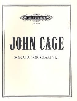 John Cage - Sonata for Clarinet - Partition - di-arezzo.co.uk