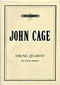 John Cage - String Quartet in four parts - Score - Partition - di-arezzo.com