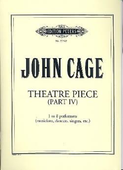 John Cage - Theatre Pieces – Part 4 - Partition - di-arezzo.fr