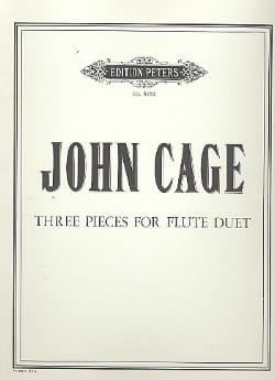 Three Pieces For Flute Duet - John Cage - Partition - laflutedepan.com