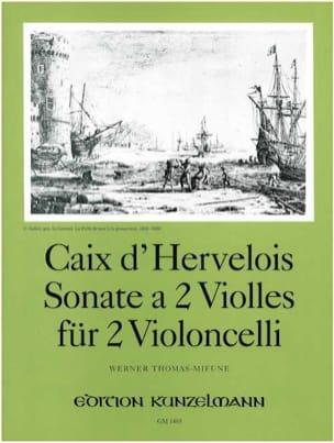 Sonate a 2 violles d'Hervelois Louis de Caix Partition laflutedepan