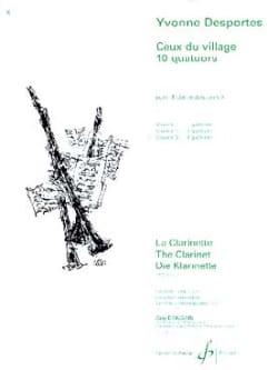 Ceux du village 10 quatuors - Volume 3 - laflutedepan.com