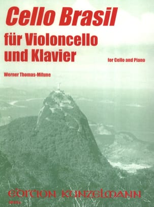 Werner Thomas-Mifune - Cello Brasil - Sheet Music - di-arezzo.co.uk