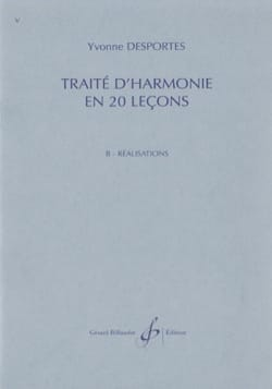Yvonne Desportes - Treaty of Harmony in 20 lessons - B. Achievements - Sheet Music - di-arezzo.co.uk