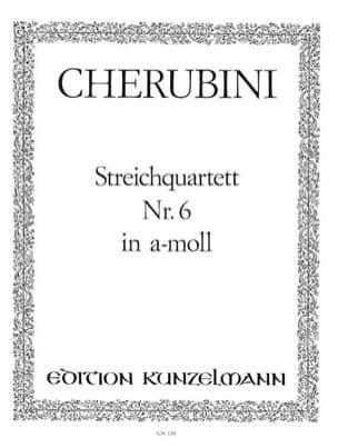 Luigi Cherubini - Streichquartett Nr. 6 a-moll –Stimmen - Partition - di-arezzo.fr
