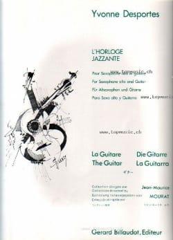 Yvonne Desportes - L' Horloge Jazzante - Partition - di-arezzo.fr