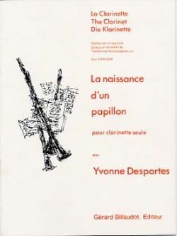 Yvonne Desportes - The birth of a butterfly - Sheet Music - di-arezzo.com