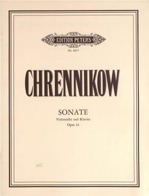 Sonate op. 34 - Tichon Chrennikow - Partition - laflutedepan.com