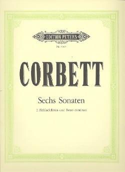 William Corbett - 6 Sonaten - 2 Altoblockflöten Bc - Sheet Music - di-arezzo.com