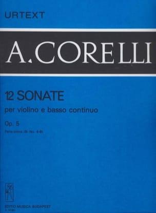 12 Sonates op. 5, Volume 1B 4 à 6 - laflutedepan.com