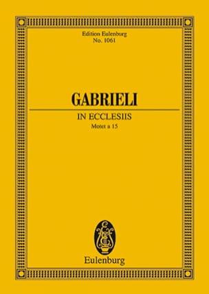 Symphoniae Sacrae Nr. 26 Giovanni Gabrieli Partition laflutedepan