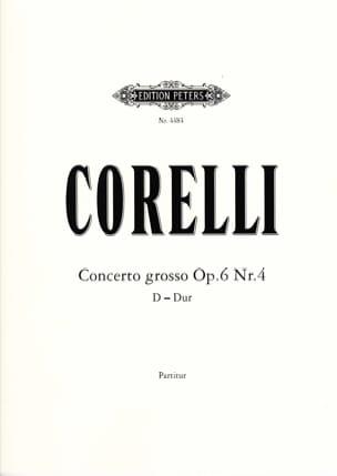 CORELLI - Concerto Grosso op. 6 n ° 4 - Score - Sheet Music - di-arezzo.com