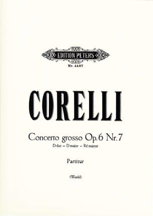 Arcangelo Corelli - Concerto Grosso D-Dur op. 6 n° 7 - Partitur - Partition - di-arezzo.fr