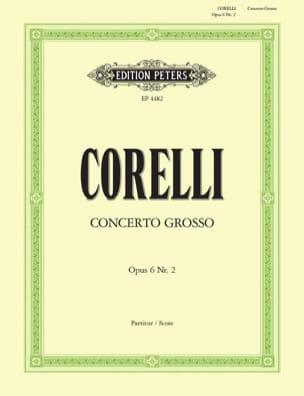 CORELLI - Concerto Grosso op. 6 n ° 2 Fa Major - Sheet Music - di-arezzo.com