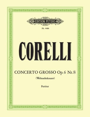 Arcangelo Corelli - Concerto Grosso op. 6 n° 8 - Conducteur - Partition - di-arezzo.fr