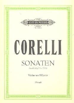 Arcangelo Corelli - Sonates op. 5, Volume 2 n° 3, 5, 9 Klengel - Partition - di-arezzo.fr