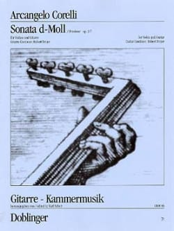 Sonata d-Moll op. 5 n° 7 CORELLI Partition 0 - laflutedepan