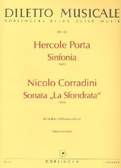 Sinfonia / Sonata La Sfondrata - laflutedepan.com