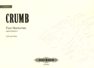 George Crumb - 4 Nocturnes - Sheet Music - di-arezzo.co.uk