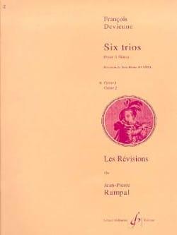 François Devienne - 6 Trios Notebook 1 - 3 Flutes - Sheet Music - di-arezzo.com