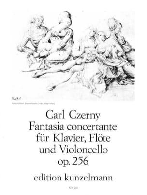 Carl Czerny - Fantasia concertante op. 256 –Klavier Flöte Violoncello - Partition - di-arezzo.fr