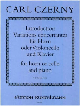 Carl Czerny - Introduction and Concerted Variations - Sheet Music - di-arezzo.com