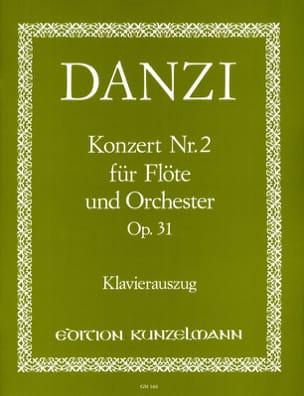 Franz Danzi - Concierto No. 2 op. 31 - Flöte Klavier - Partitura - di-arezzo.es