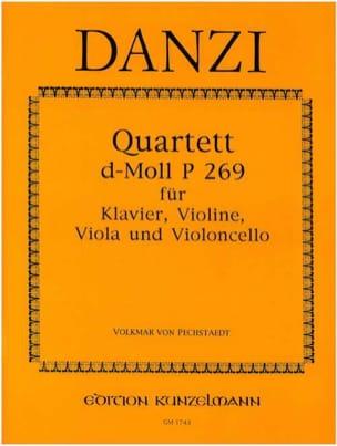 Quartett d-moll P. 269 – Klavier Violine Viola Violoncello - laflutedepan.com