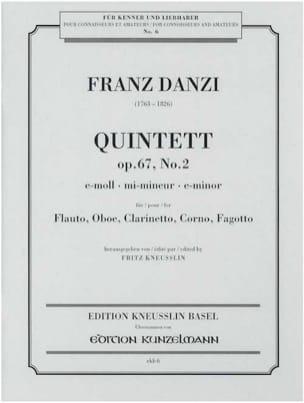 Quintett e-moll op. 67 Nr. 2 - Stimmen - laflutedepan.com